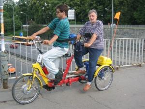 my na rowerze 004